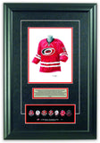 Carolina Hurricanes 2013-14 - Heritage Sports Art - original watercolor artwork