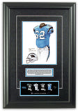 Carolina Panthers 2005 - Heritage Sports Art - original watercolor artwork - 2