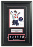 Houston Texans 2002 - Heritage Sports Art - original watercolor artwork - 2