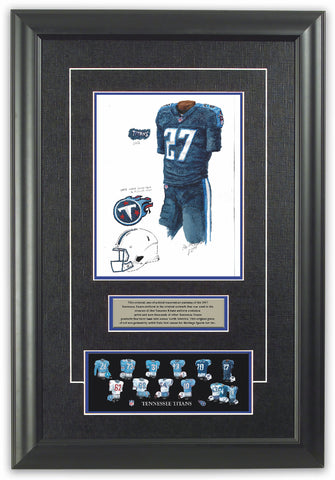 Tennessee Titans 2017 - Heritage Sports Art - original watercolor artwork