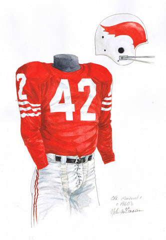 Montreal Alouettes 1962 - Heritage Sports Art - original watercolor artwork - 1