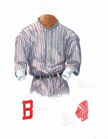 Atlanta Braves 1914 - Heritage Sports Art - original watercolor artwork - 1