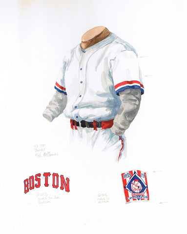 Atlanta Braves 1939 - Heritage Sports Art - original watercolor artwork - 1