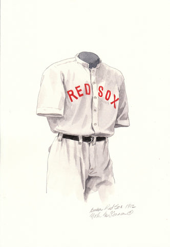 Boston Red Sox 1912 - Heritage Sports Art - original watercolor artwork - 1