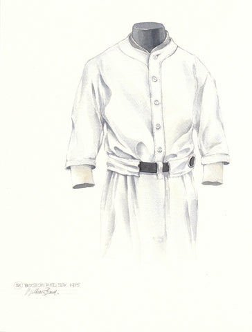 Boston Red Sox 1915 - Heritage Sports Art - original watercolor artwork - 1