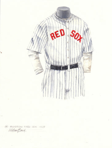 Boston Red Sox 1923 - Heritage Sports Art - original watercolor artwork - 1