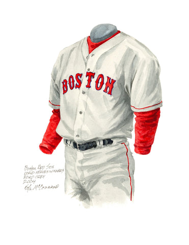 Boston Red Sox 2004 - Heritage Sports Art - original watercolor artwork - 1