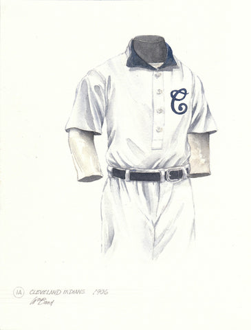 Cleveland Indians 1906 - Heritage Sports Art - original watercolor artwork - 1