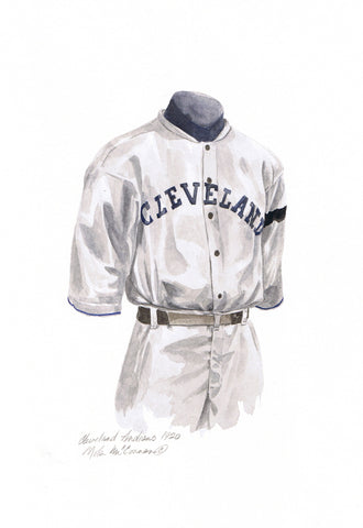 Cleveland Indians 1920 - Heritage Sports Art - original watercolor artwork - 1