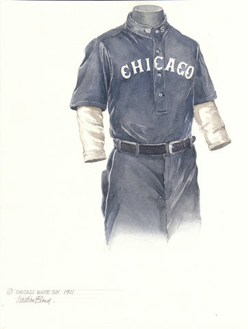 Chicago White Sox 1911 - Heritage Sports Art - original watercolor artwork - 1