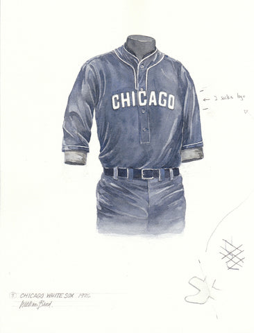 Chicago White Sox 1926 - Heritage Sports Art - original watercolor artwork - 1