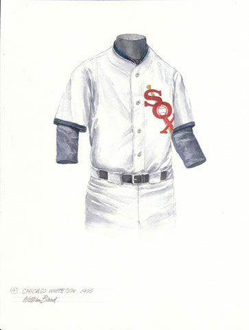 Chicago White Sox 1935 - Heritage Sports Art - original watercolor artwork - 1