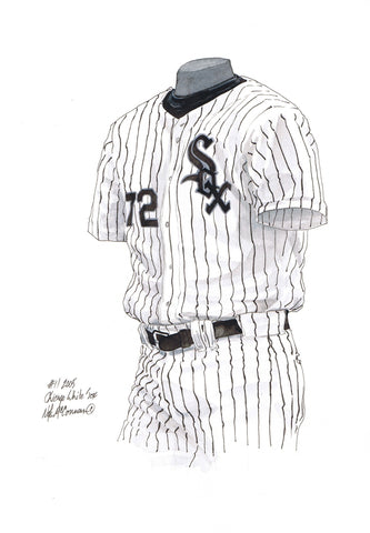 Chicago White Sox 2005 - Heritage Sports Art - original watercolor artwork - 1