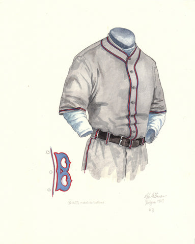 Los Angeles Dodgers 1929 - Heritage Sports Art - original watercolor artwork - 1