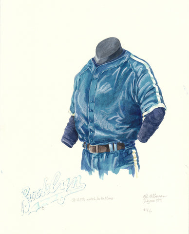 Los Angeles Dodgers 1944 - Heritage Sports Art - original watercolor artwork - 1
