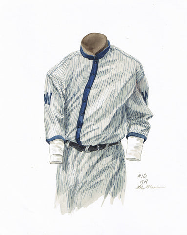 Minnesota Twins 1914 - Heritage Sports Art - original watercolor artwork - 1