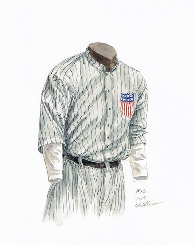 Minnesota Twins 1918 - Heritage Sports Art - original watercolor artwork - 1