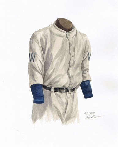 Minnesota Twins 1924 - Heritage Sports Art - original watercolor artwork - 1