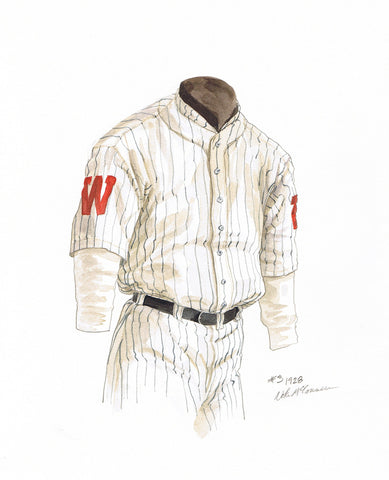 Minnesota Twins 1928 - Heritage Sports Art - original watercolor artwork - 1