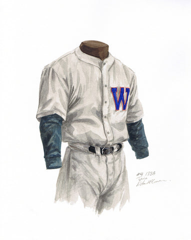 Minnesota Twins 1938 - Heritage Sports Art - original watercolor artwork - 1