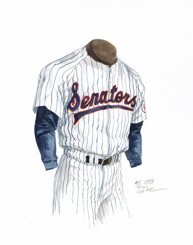 Minnesota Twins 1959 - Heritage Sports Art - original watercolor artwork - 1