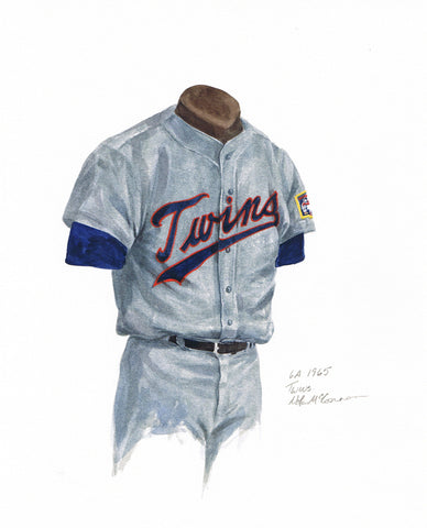 Minnesota Twins 1965 - Heritage Sports Art - original watercolor artwork - 1