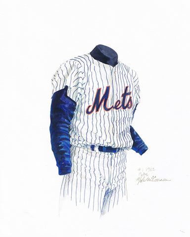 New York Mets 1962 - Heritage Sports Art - original watercolor artwork - 1