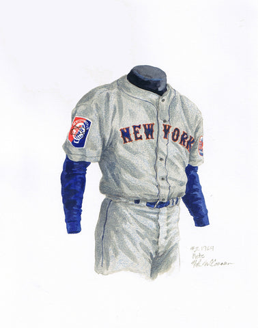 New York Mets 1964 - Heritage Sports Art - original watercolor artwork - 1