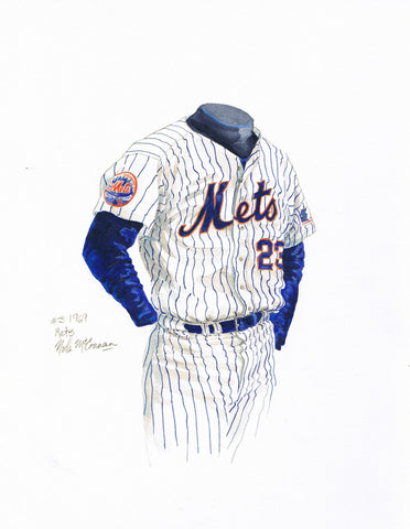 New York Mets 1969 - Heritage Sports Art - original watercolor artwork - 1