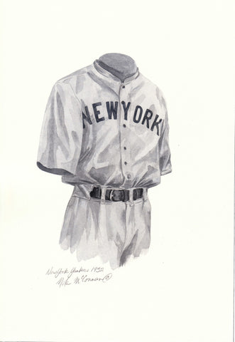 New York Yankees 1932 - Heritage Sports Art - original watercolor artwork - 1