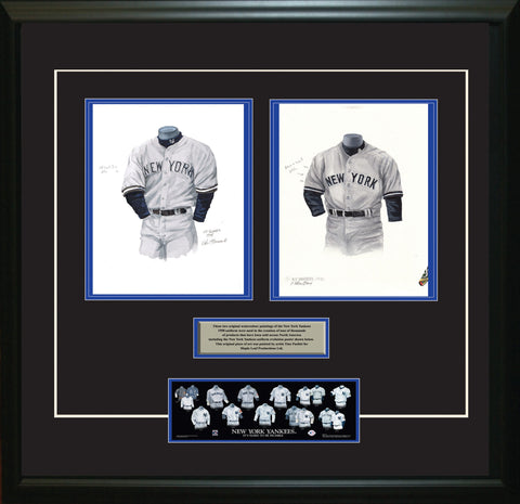 New York Yankees 1998 - Heritage Sports Art - original watercolor artwork