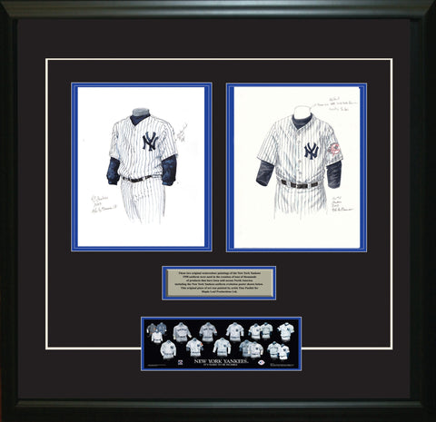 New York Yankees 2003 - Heritage Sports Art - original watercolor artwork