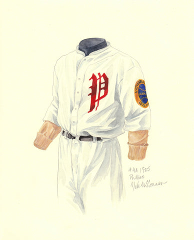 Philadelphia Phillies 1925 - Heritage Sports Art - original watercolor artwork - 1