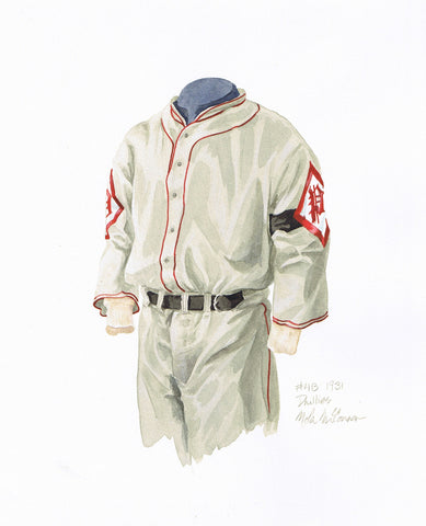 Philadelphia Phillies 1931 - Heritage Sports Art - original watercolor artwork - 1