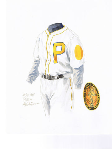 Philadelphia Phillies 1938 - Heritage Sports Art - original watercolor artwork - 1