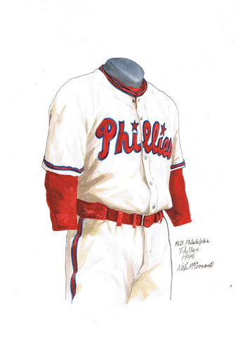 Philadelphia Phillies 1948 - Heritage Sports Art - original watercolor artwork - 1
