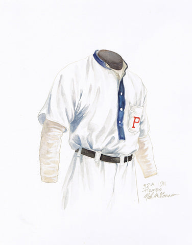 Pittsburgh Pirates 1911 - Heritage Sports Art - original watercolor artwork - 1