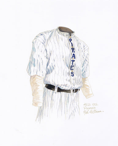 Pittsburgh Pirates 1912 - Heritage Sports Art - original watercolor artwork - 1