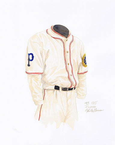 Pittsburgh Pirates 1925 - Heritage Sports Art - original watercolor artwork - 1