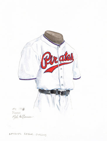 Pittsburgh Pirates 1938 - Heritage Sports Art - original watercolor artwork - 1