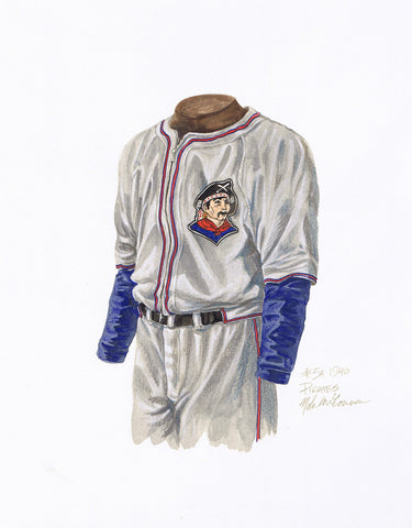 Pittsburgh Pirates 1940 - Heritage Sports Art - original watercolor artwork - 1