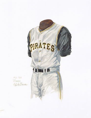 Pittsburgh Pirates 1960 - Heritage Sports Art - original watercolor artwork - 1