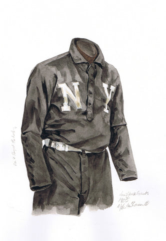 San Francisco Giants 1905 - Heritage Sports Art - original watercolor artwork - 1