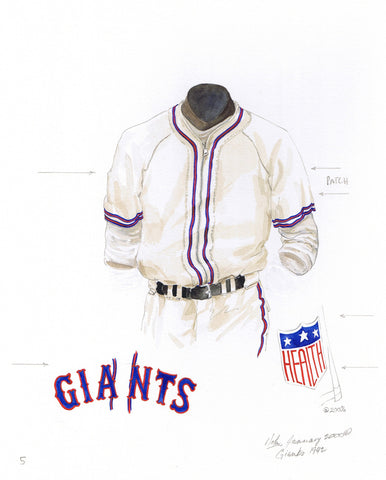 San Francisco Giants 1942 - Heritage Sports Art - original watercolor artwork - 1
