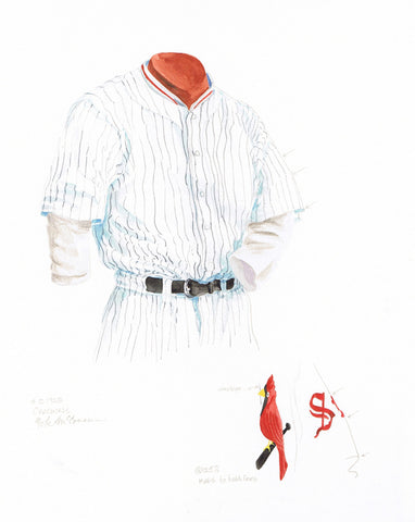 St. Louis Cardinals 1928 - Heritage Sports Art - original watercolor artwork - 1