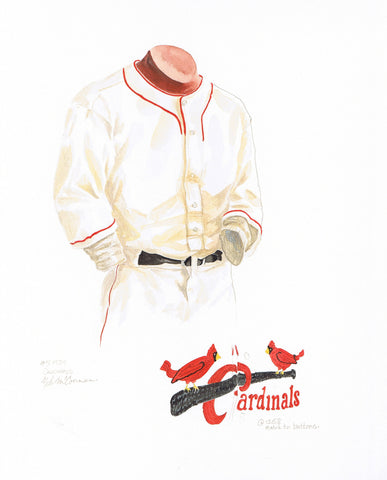 St. Louis Cardinals 1934 - Heritage Sports Art - original watercolor artwork - 1