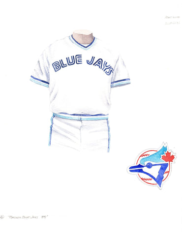 Toronto Blue Jays 1985 - Heritage Sports Art - original watercolor artwork - 1