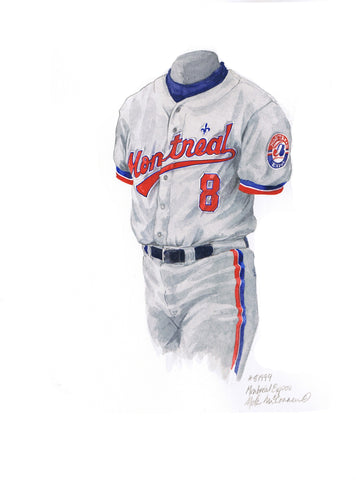 Washington Nationals 1994 - Heritage Sports Art - original watercolor artwork - 1