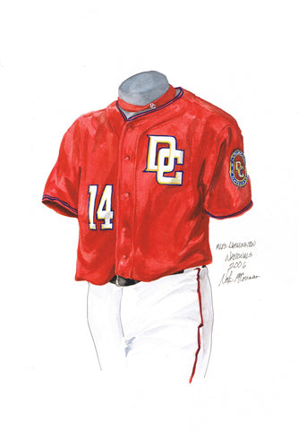 Washington Nationals 2006 - Heritage Sports Art - original watercolor artwork - 1