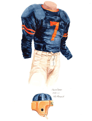 Florida Gators 1944 - Heritage Sports Art - original watercolor artwork - 1